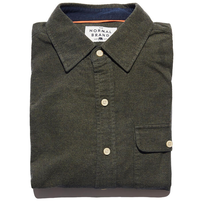 The Normal Brand Men's Chamois Woven Shirt