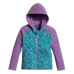 The North Face Toddler Girl's Glacier Full Zip Fleece Hoodie