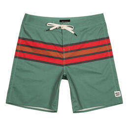 Brixton Men's Barge Stripe Swim Trunks