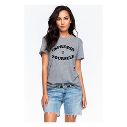 Sub_Urban Riot Women's Espresso Yourself Loose T Shirt