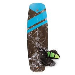 Liquid Force Men's FLX Wakeboard 17 w/ Transit Bindings