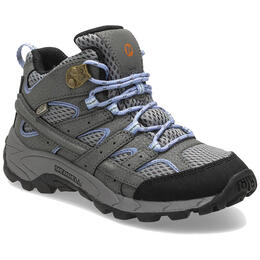 Merrell Girl's Moab 2 Mid Waterproof Hiking Shoes