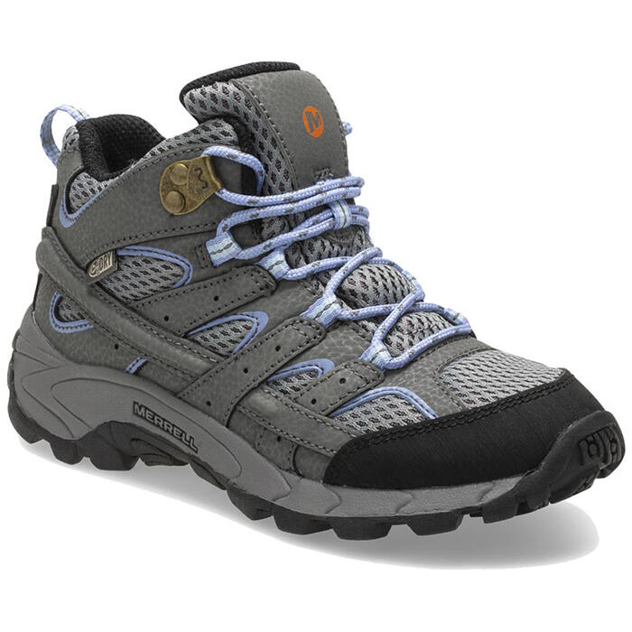 Merrell Girl's Moab 2 Mid Waterproof Hiking
