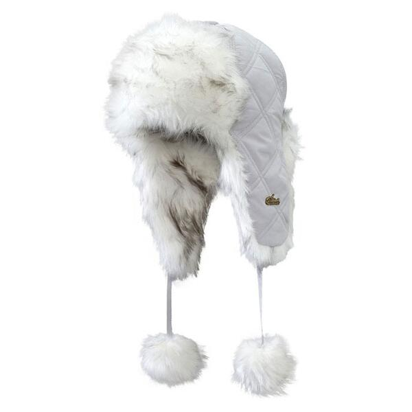 Screamer Women's Hepburn Faux Fur Pom Trapper Hat