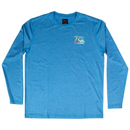 Quiksilver Men's Heritage Long Sleeve Surf T Shirt