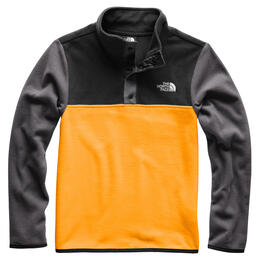 The North Face Boy's Glacier 1/4 Snap Fleece Jacket