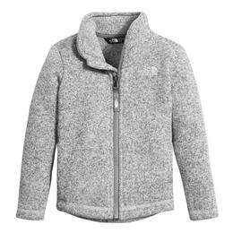 The North Face Toddler Girl's Crescent Full Zip Fleece Sweater