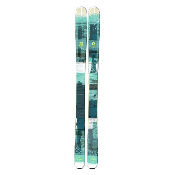 Salomon Women's Q-96 Lumen Backside All Mountain Skis '16 - Flat