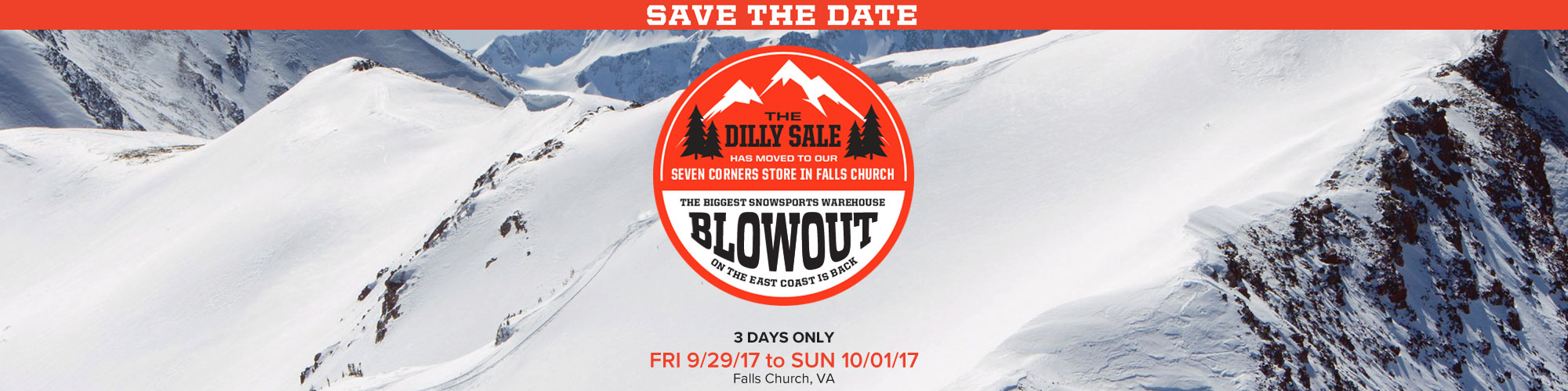 Dilly In Chantilly Ski & Snowboard Blowout
