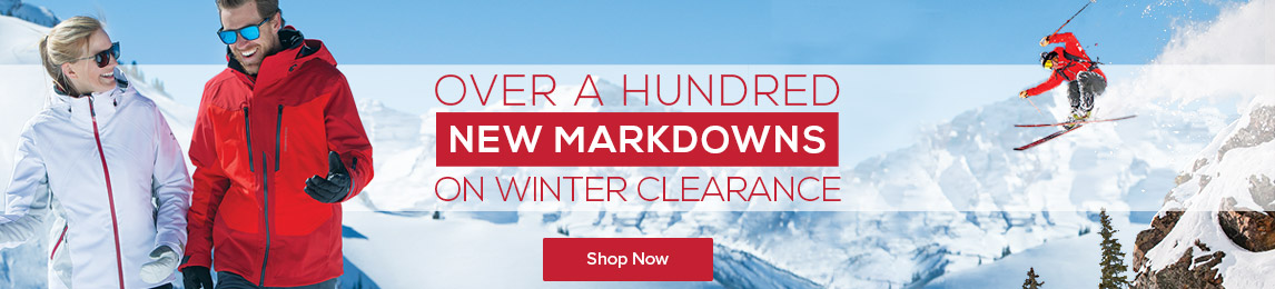 New winter markdowns.