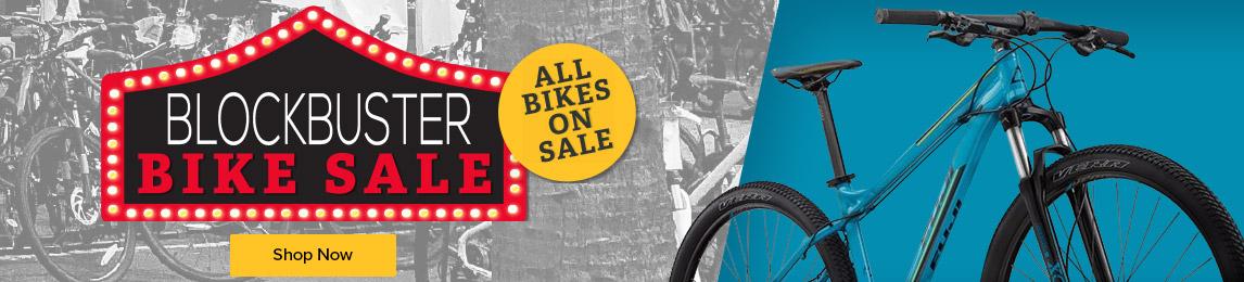 Blockbuster Bike Sale. All bikes on sale.