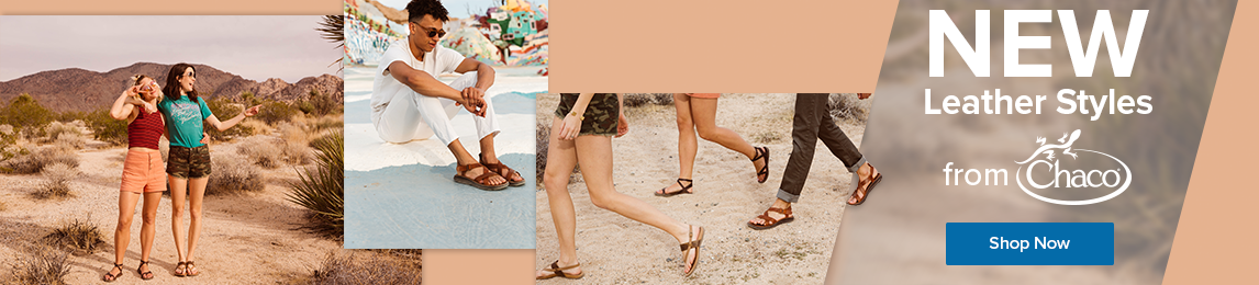 New leather styles from Chaco. Shop Now.