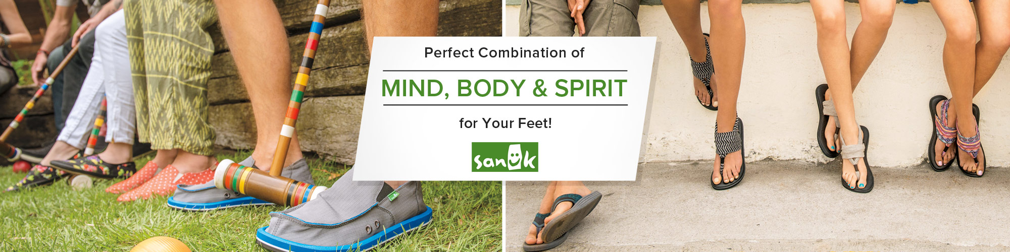 Sanuk sandals and casual shoes