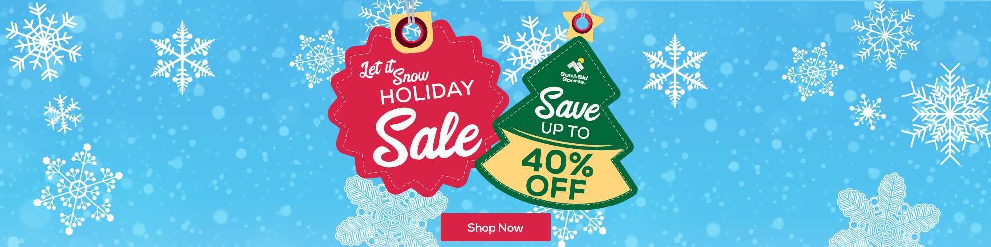 Holiday Sale. Save up to 40% off