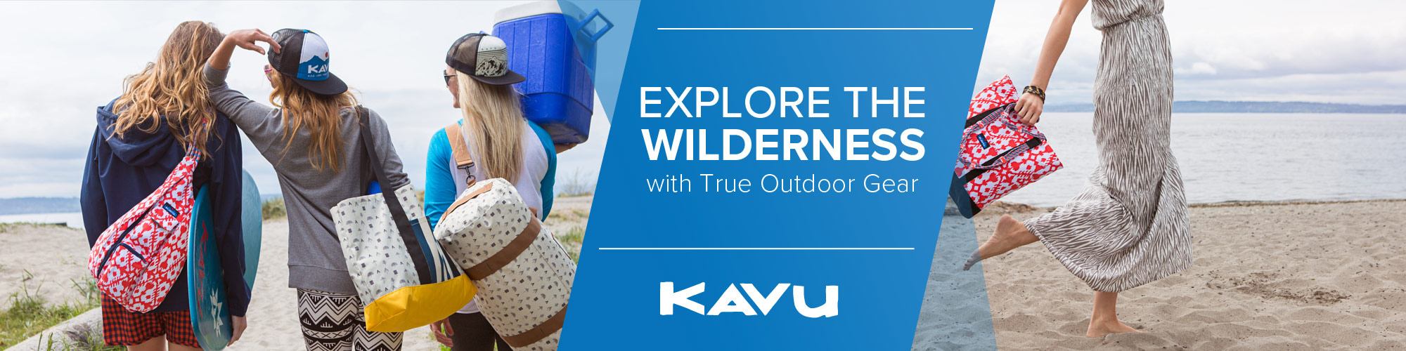 Shop Kavu bags and clothing