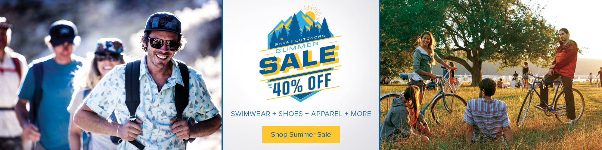 4th of July Sale - Save up to 40% on select clothing, swimwear, sandals and more.
