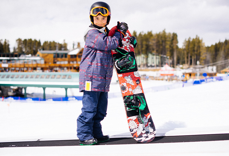 Kids Snowboard Lease