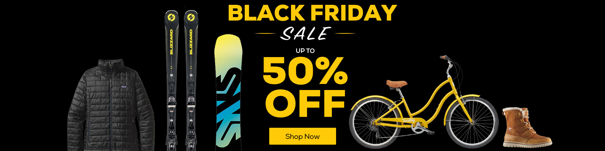 Black Friday Sale. Save up to 50% Off.