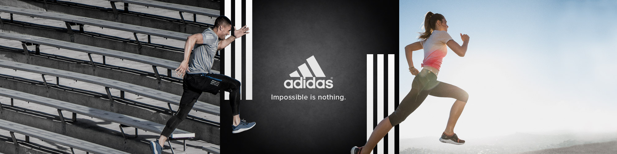 adidas running apparel and shoes