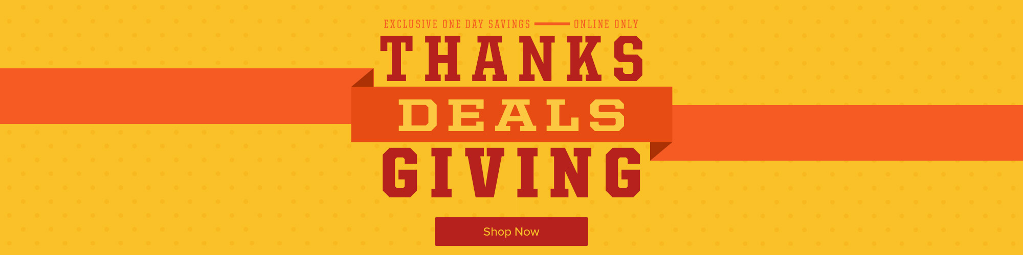 One Day Only Thanksgiving Day Deals
