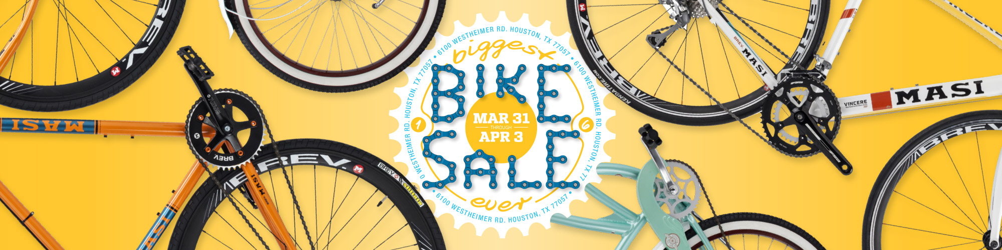 Biggest Bike Sale - 6100 Westheimer, Houston, Tx