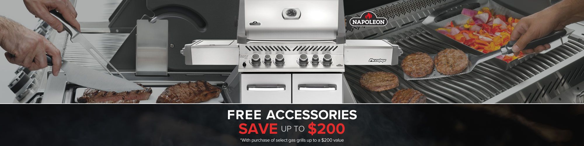Shop Napoleon for your gas grills, grilling tools, grilling accessories & grill covers at Sun & Ski.