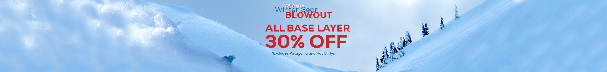 Base Layers 30% Off Sale