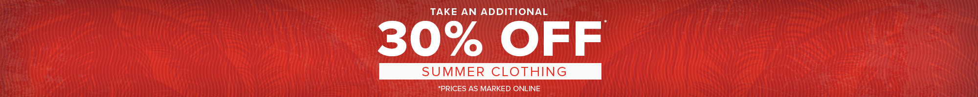 men's summer and winter clothing