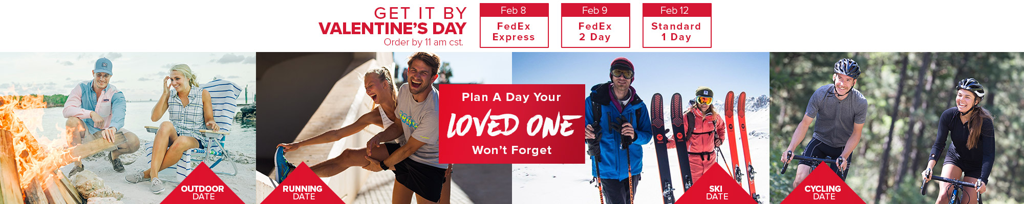 Plan a day your loved one wont forget.
