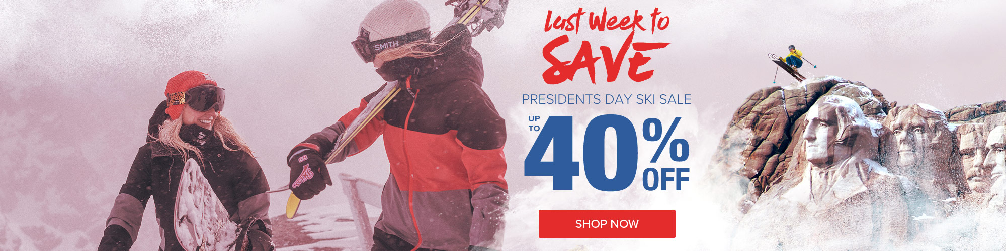 Presidents Day Sale - Shop Now