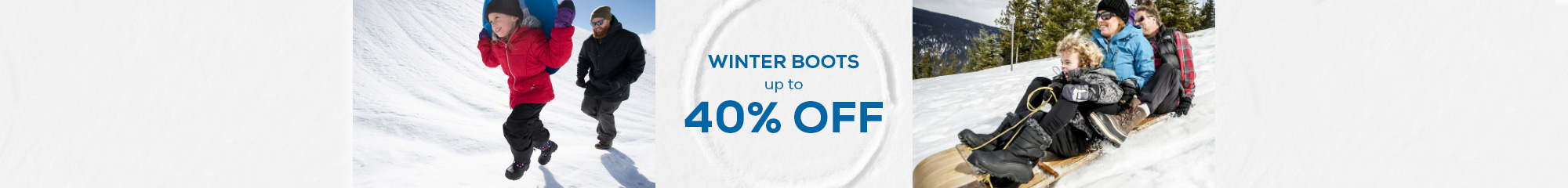 Winter Boots Up to 40% Off