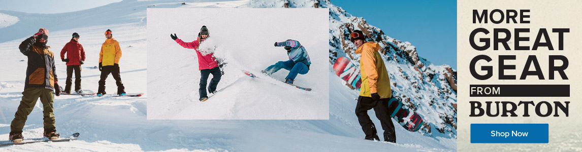 Shop more great gear from Burton.