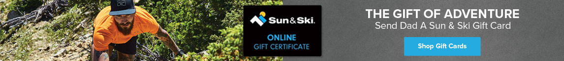 Send Dad A Sun & Ski Gift Card
