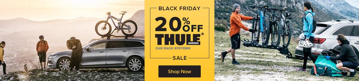 20% Off all Thule Car Racks.