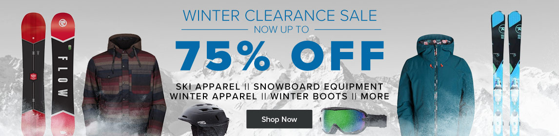 Shop Winter Clearance - Up To 75% Off