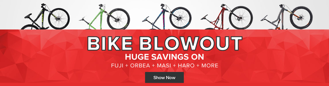 Bike Blowout Sale - Huge Savings on brands like Fuji, Ordea, Masi, Haro, and more