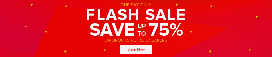 Flash Sale One Day Only - Save Up To 75^ On Brooks Retro Sneakers