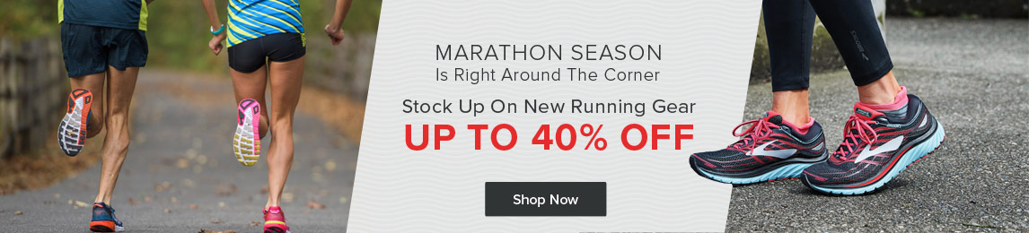 Up To 40% Off Running Gear