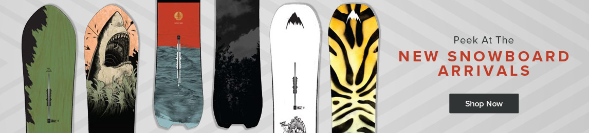 Shop The Lastes Arrivals in Snowboards
