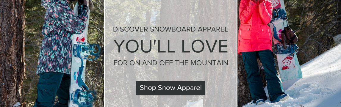 Snow Apparel - Shop Now