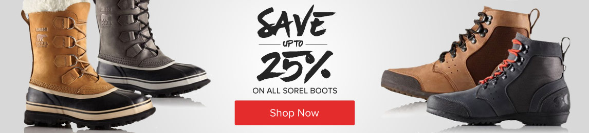 Sorel 25% Off - Shop Now