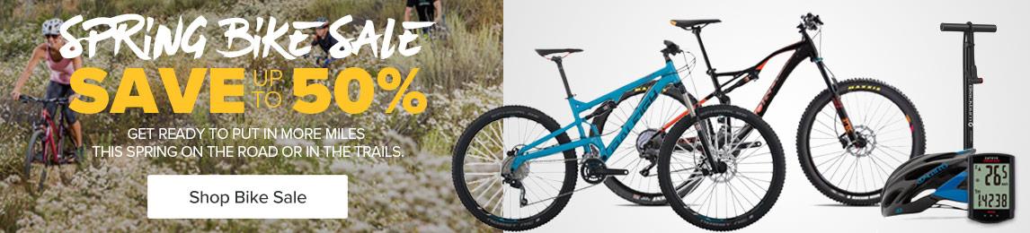 Shop - Spring Bike Sale