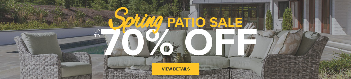 Sping Patio Sale - Save up to 70%