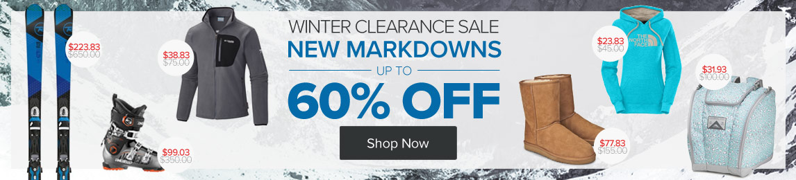 Shop - Winter Sale