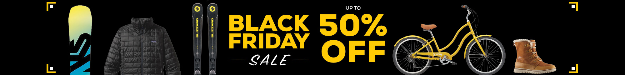 Black Friday Now - Monday Save up to 50% off