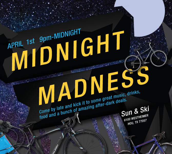 Midnight Madness - April 1, 2016 at 9 PM