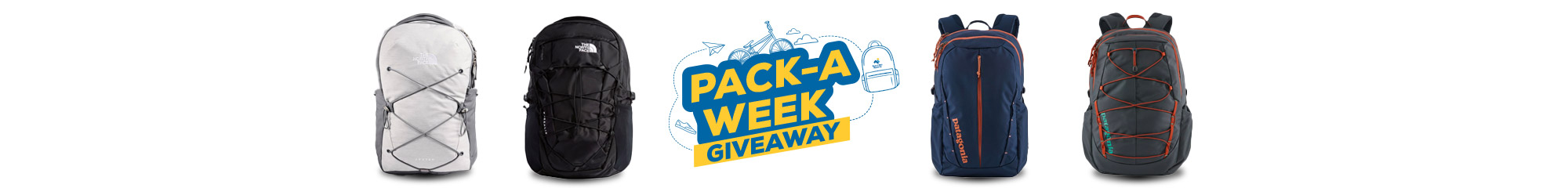 Pack-A-Week Giveaway. August 3rd - August 30th