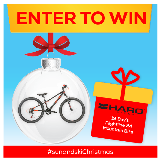 Enter to win Haro Boy's Flightline 24 Mountain Bike '19