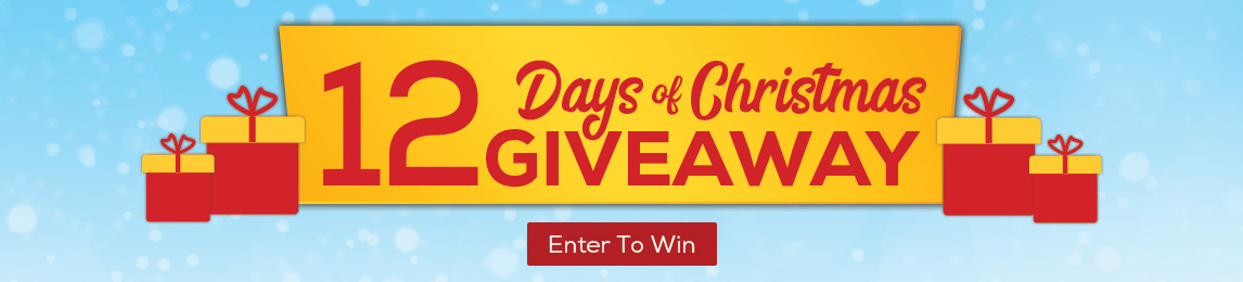 12 Days of Christmas Giveaway. Enter to win todays feature gift.