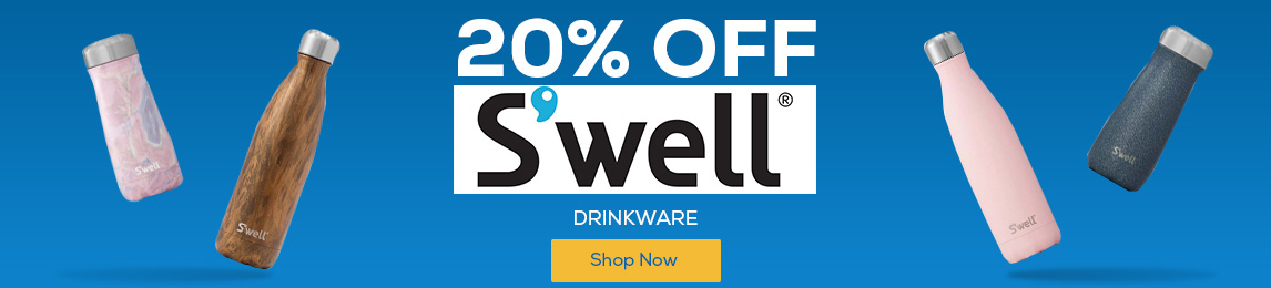 Save 20% Off S'well Drinkware.